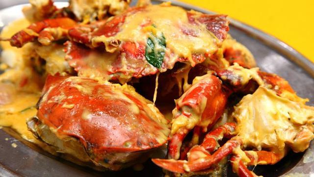 Yu, Masak Kepiting Saus Telur Asin yang Enak